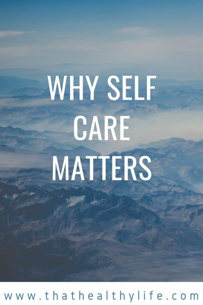 why self care matters pinterest cover image.